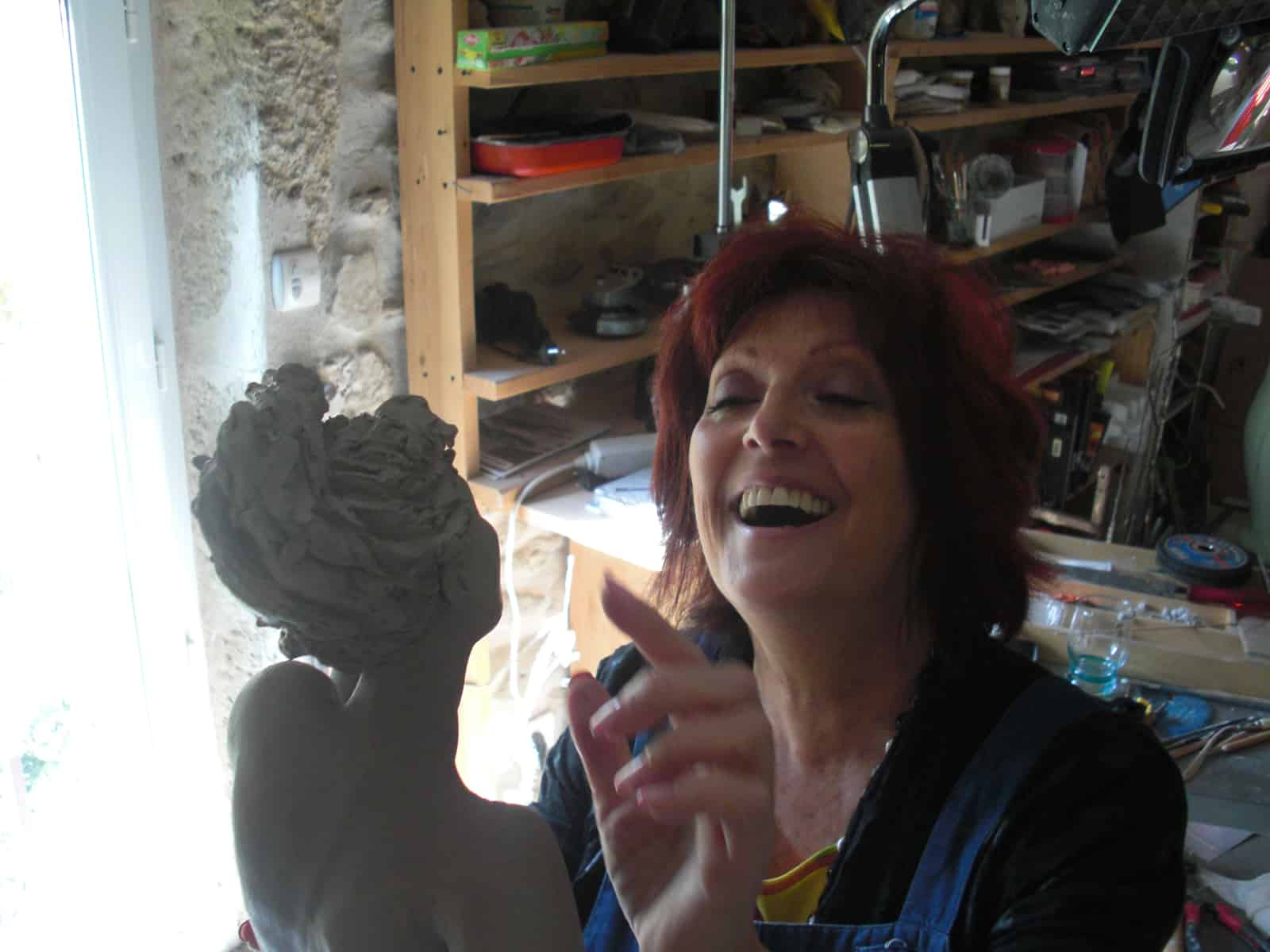 JOSEPHA Artiste Sculpteur Galerie d'Art Sylvie Platini Lyon Annecy