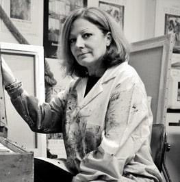 Antoinette NICOLINI Artiste Peintre Galerie d'Art Sylvie Platini Lyon Annecy