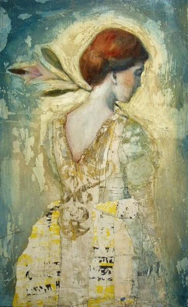 Céline RANGER Artiste Peintre Galerie d'Art Sylvie Platini Lyon Annecy