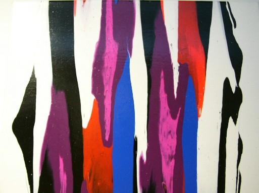 Frank JONS Artiste peintre à la Galerie d'Art Sylvie Platini Lyon Annecy
