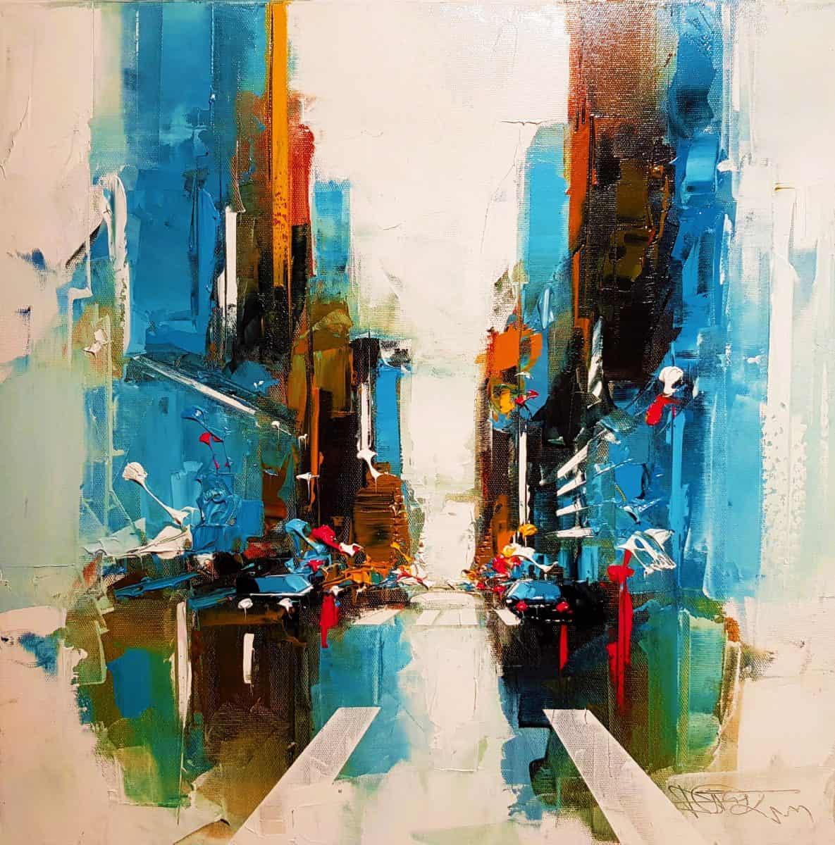 Daniel CASTAN Artiste Peintre Galerie d'Art Sylvie Platini Lyon Annecy