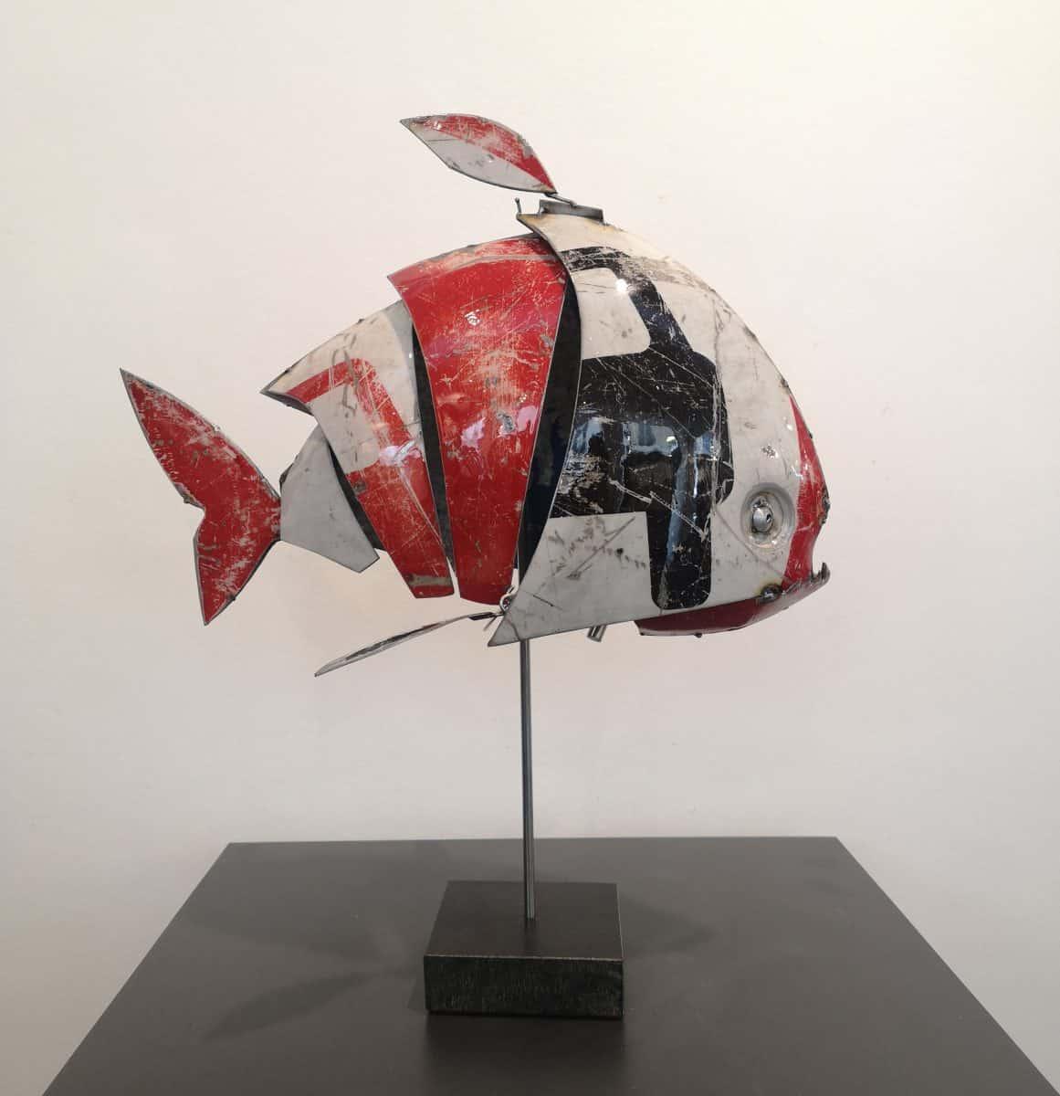 Mathias SOUVERBIE Artiste Sculpteur sculpture à la Galerie d'Art Sylvie Platini Lyon Annecy