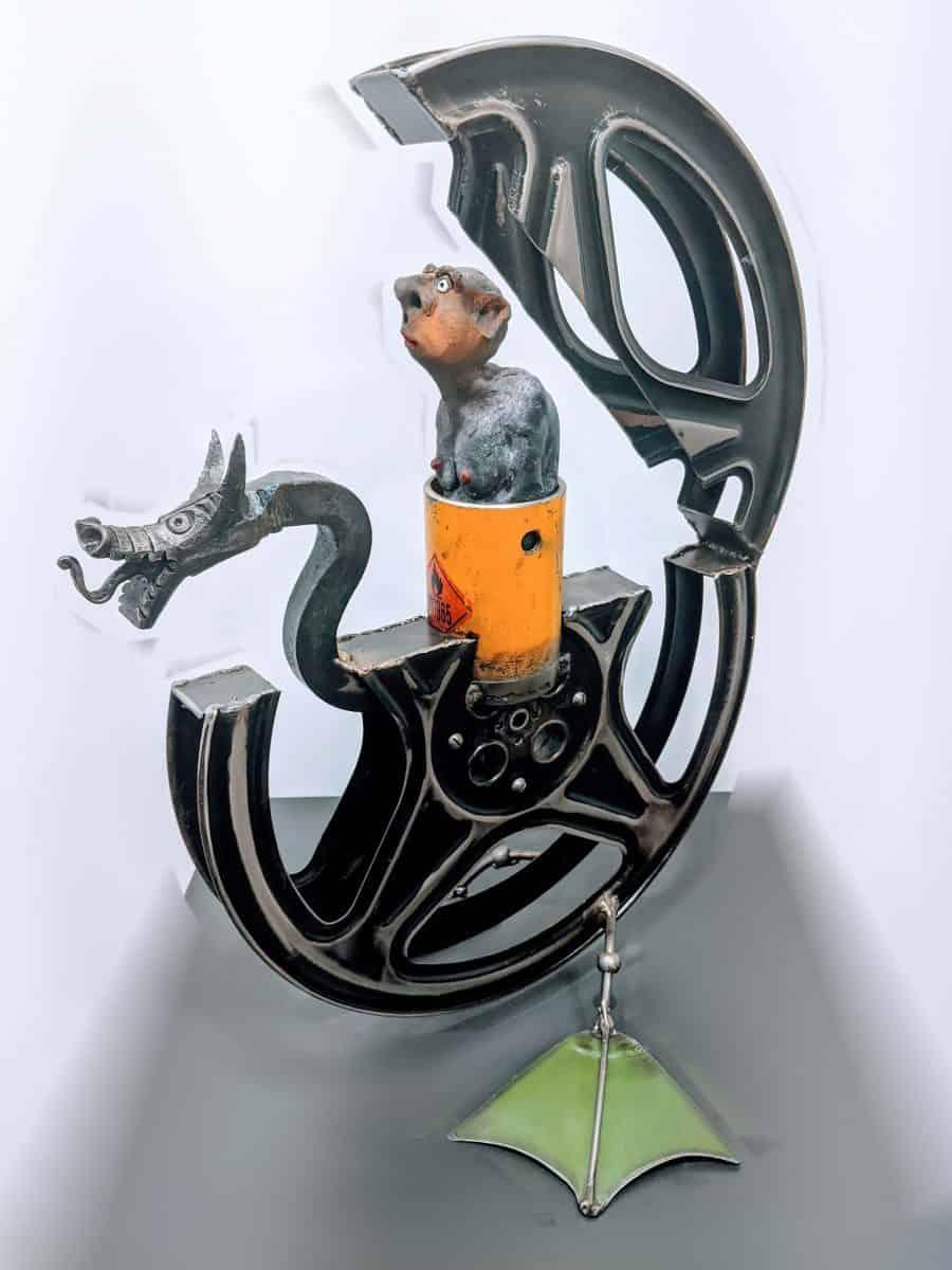 Yannis LAGRESLE Artiste Sculpteur Galerie d'Art Sylvie Platini Lyon Annecy