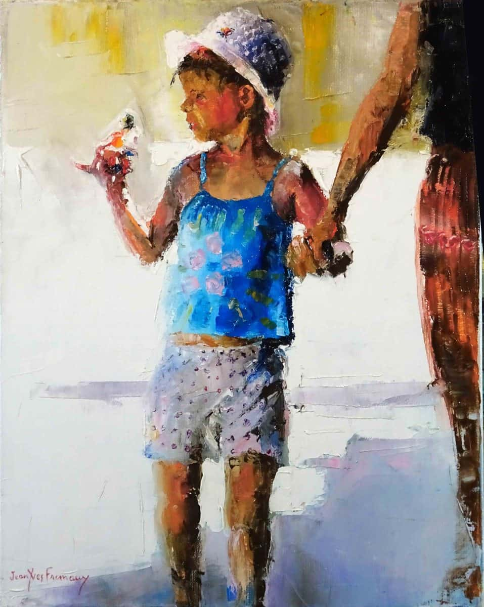 Jean-Yves FREMAUX Artiste Peintre Galerie d'Art Sylvie Platini Lyon Annecy