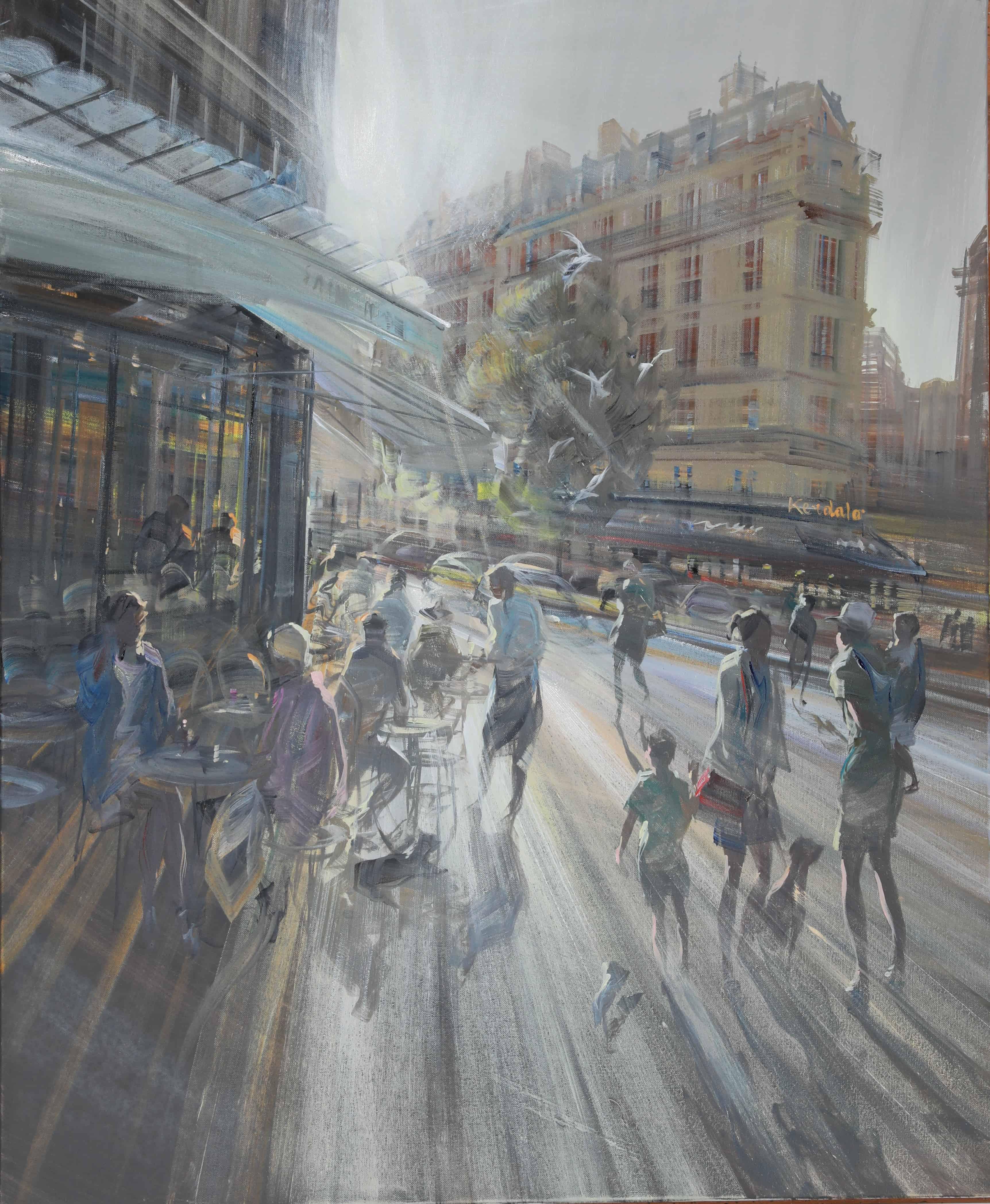 KERDALO Artiste Peintre Galerie d'Art Sylvie Platini Lyon Annecy