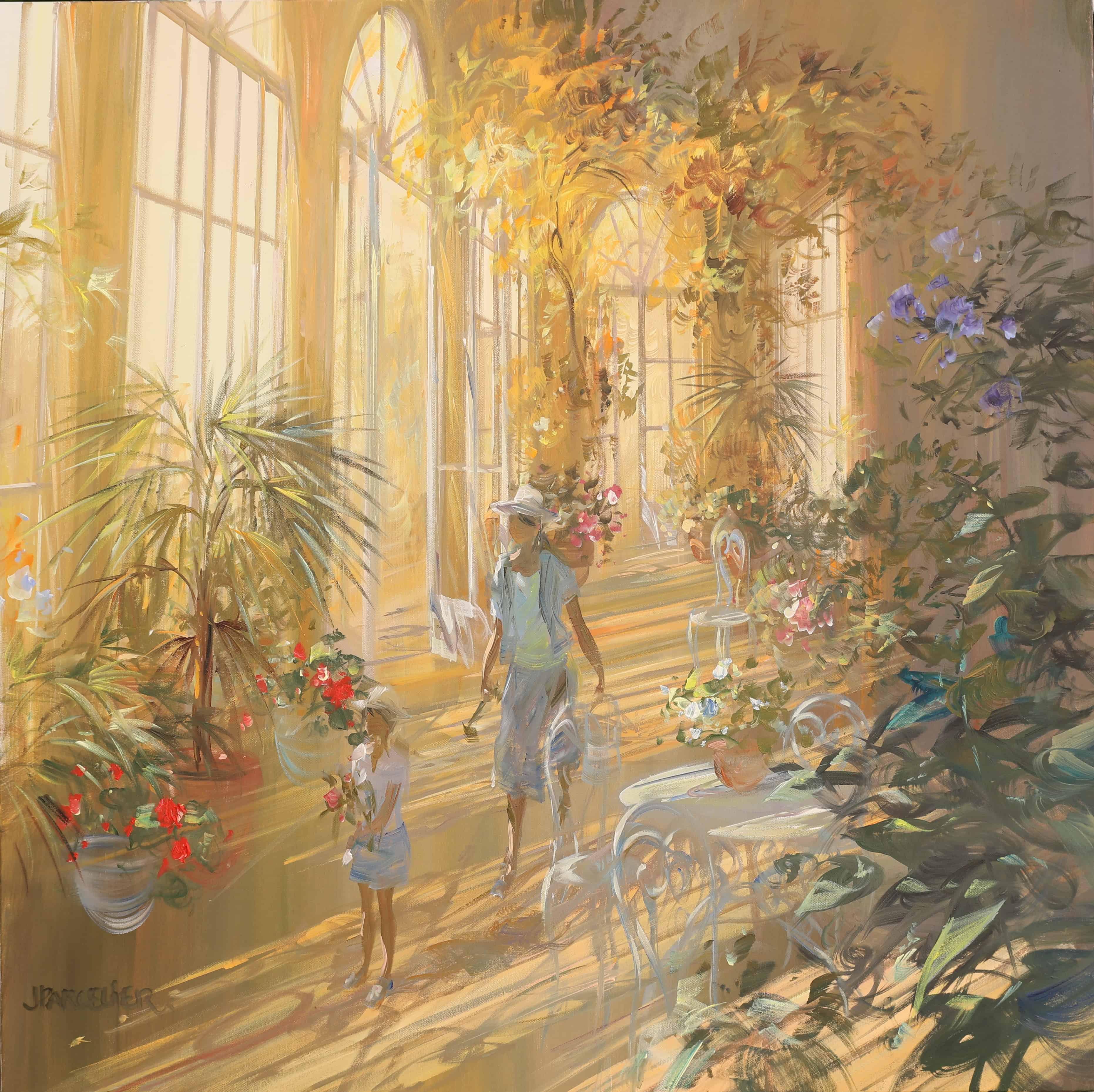 Laurent PARCELIER Artiste Peintre Galerie d'Art Sylvie Platini Lyon Annecy